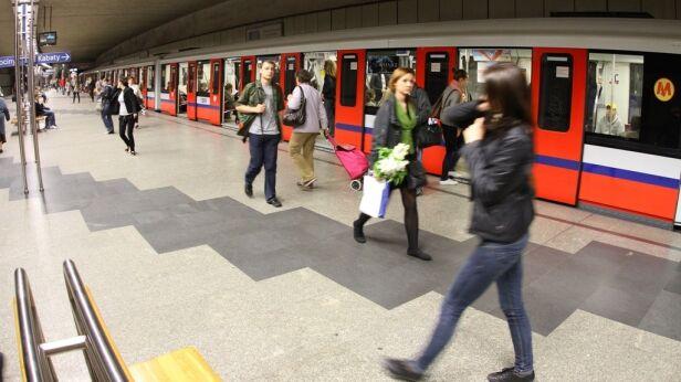 Metro ogłasza przetarg na kolejne stacje / fot. Maciej Wężyk, tvnwarszawa.pl