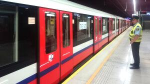 """Stary pociąg na II linii metra. """"To tylko testy"""""""