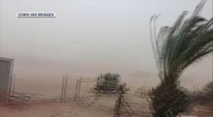 Na zachodnim wybrzeżu Australii wieje porywisty wiatr