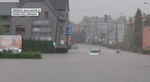 W czwartek zalany został Pszów